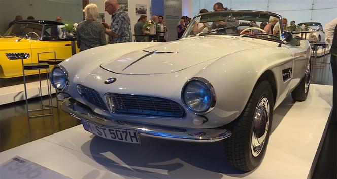 BMW Clbre Les 60 Ans Du Roadster 507