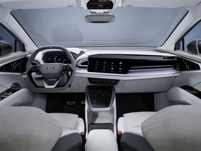 Video presentation - Audi Q4 e-tron Sportback Concept: it ticks all the boxes