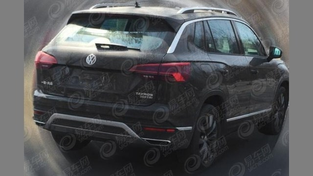 Volkswagen: the new SUV Tayron on the run