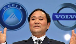 Mercedes boss plans collaboration with Geely