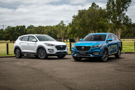 2021 MG HS Excite v Hyundai Tucson Active X comparison ...