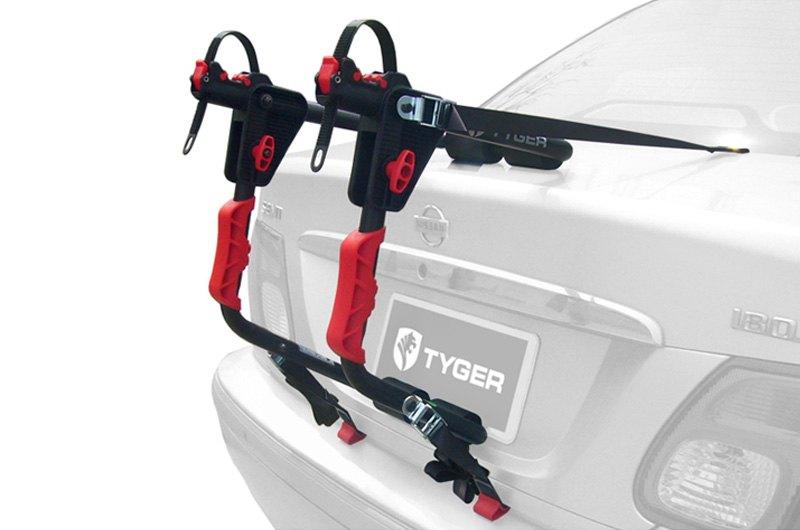 tyger tg rk1b204b deluxe trunk mount bike rack for 1 bike