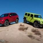 Ultimate Jeep Head To Head Wrangler Rubicon Versus Grand Cherokee Trailhawk News Cars Com