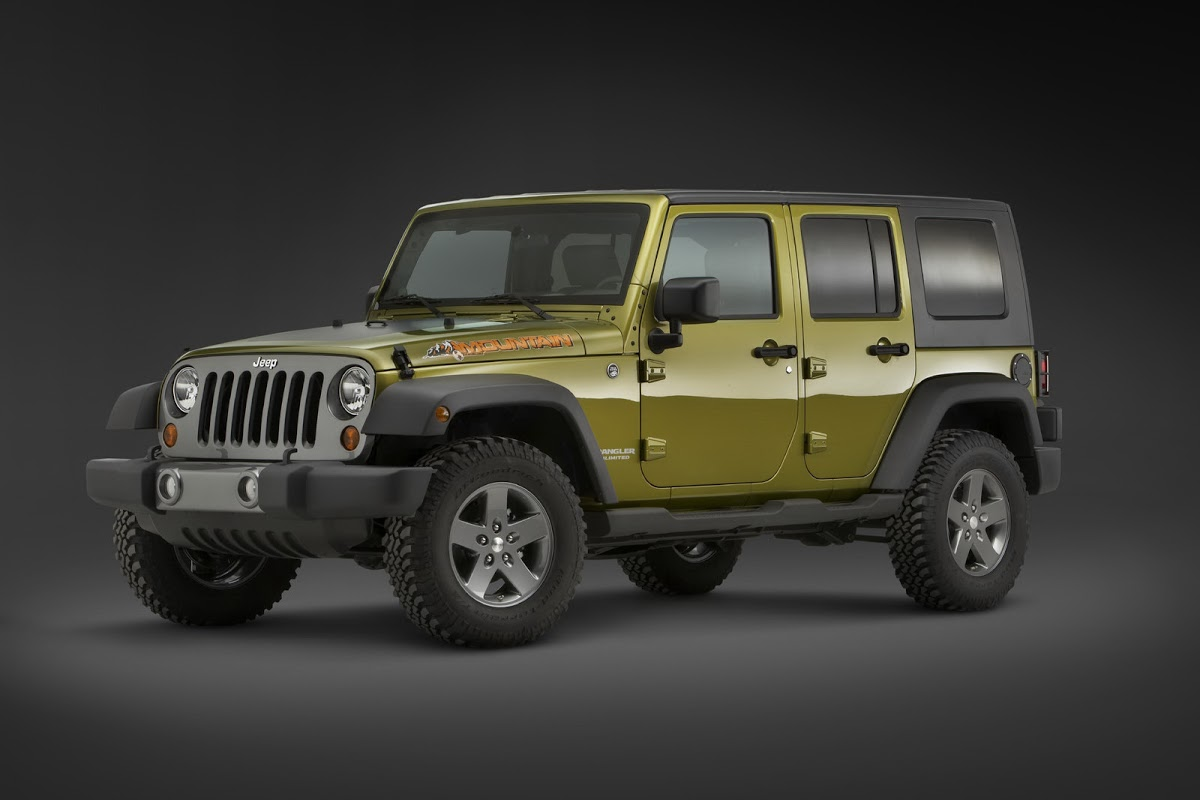 Jeep Wrangler Islander And Mountain Limited Edition