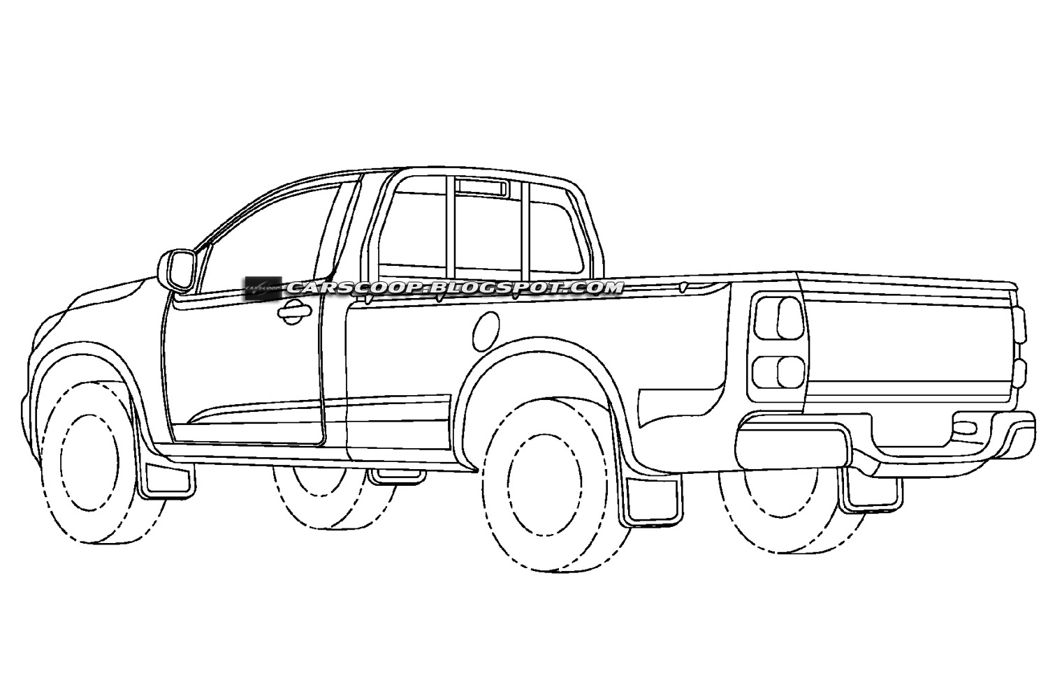 Chevrolet Teases New Colorado Mid Size Pickup Truck