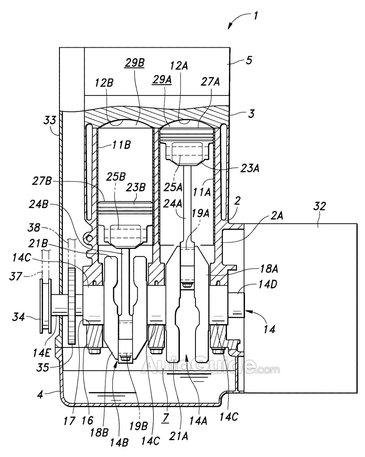 Honda Patents Engine With Adjustable Displacement