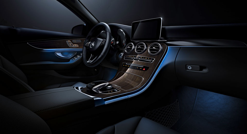 Mercedes Benz C Class Receives S Class Inspired Ambient Lighting