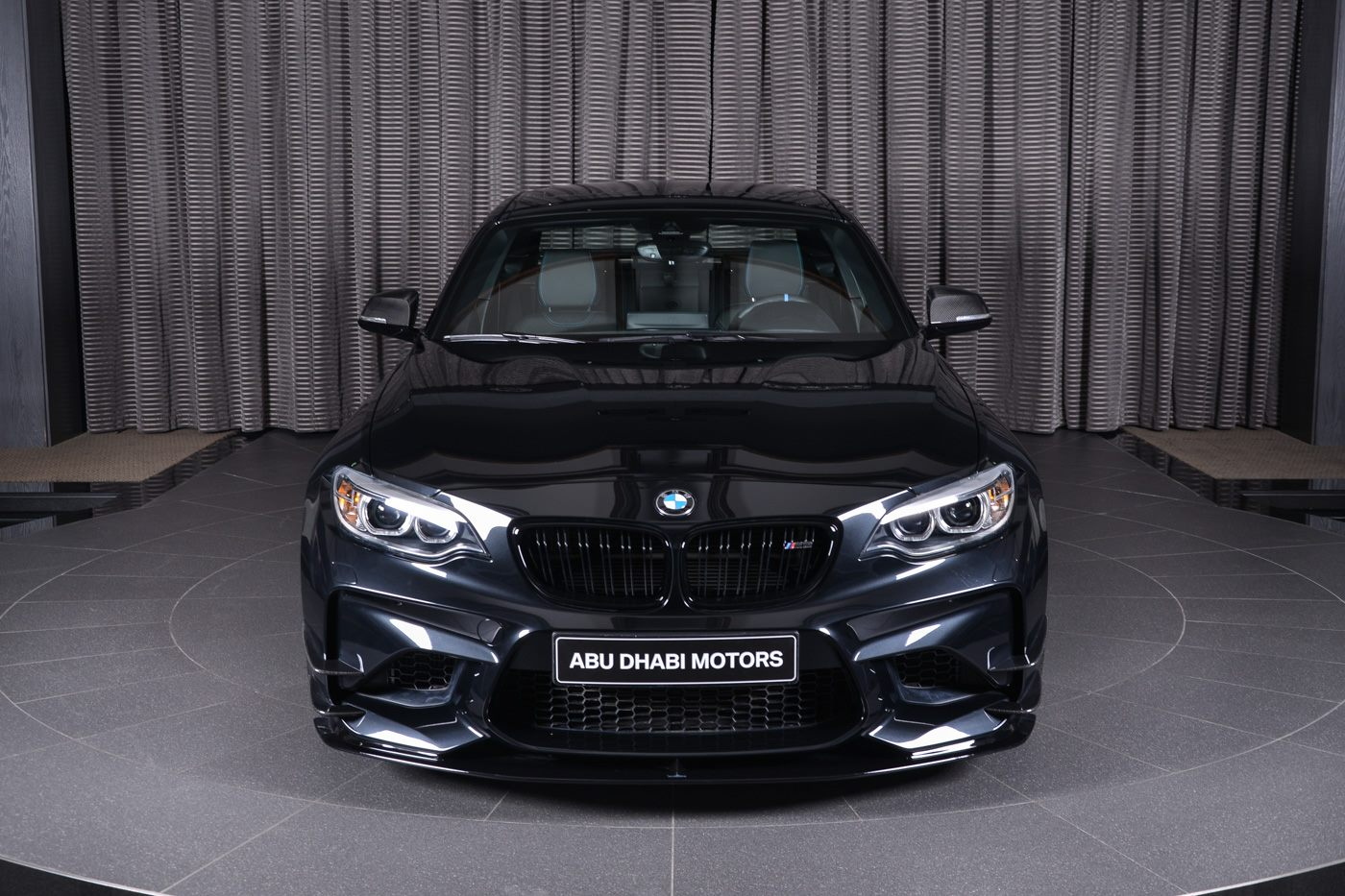 Sapphire Black Bmw M2 Is All In On What Ac Schnitzer Is