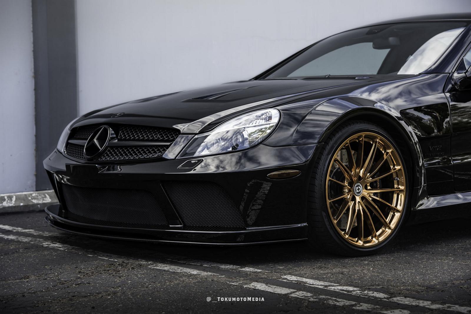 Black Amg Mercedes Benz Sl65 Series