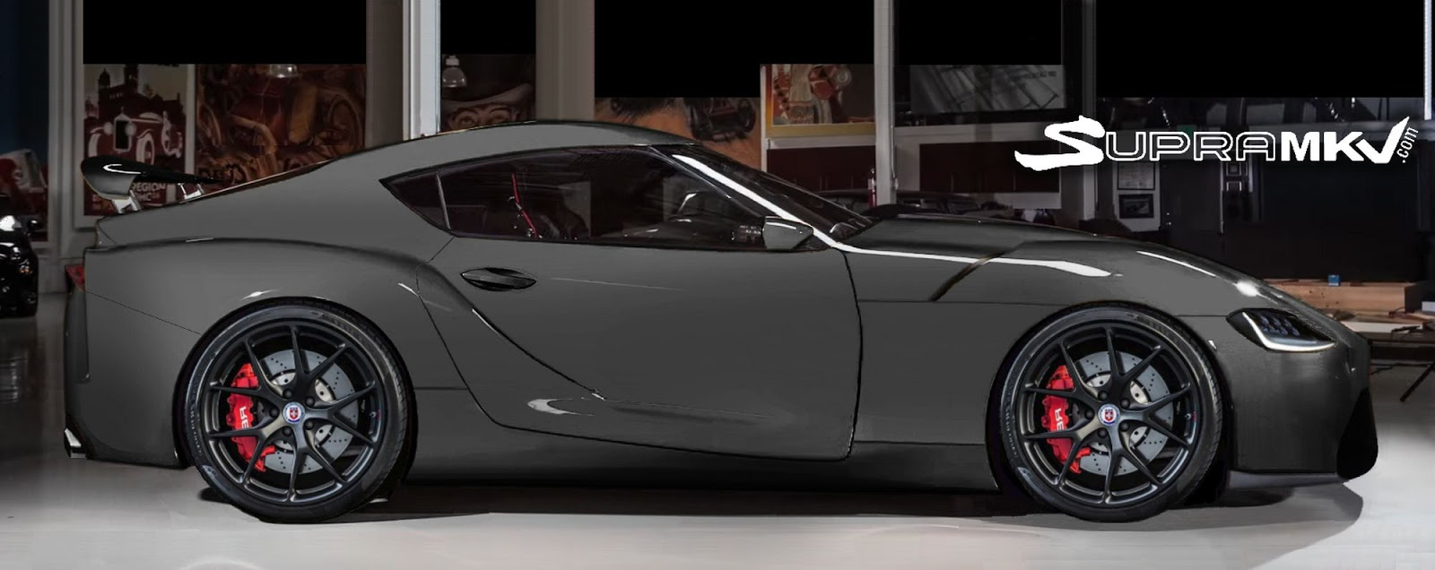 New Toyota Supra Shows Up In Side Profile Renderings Yay