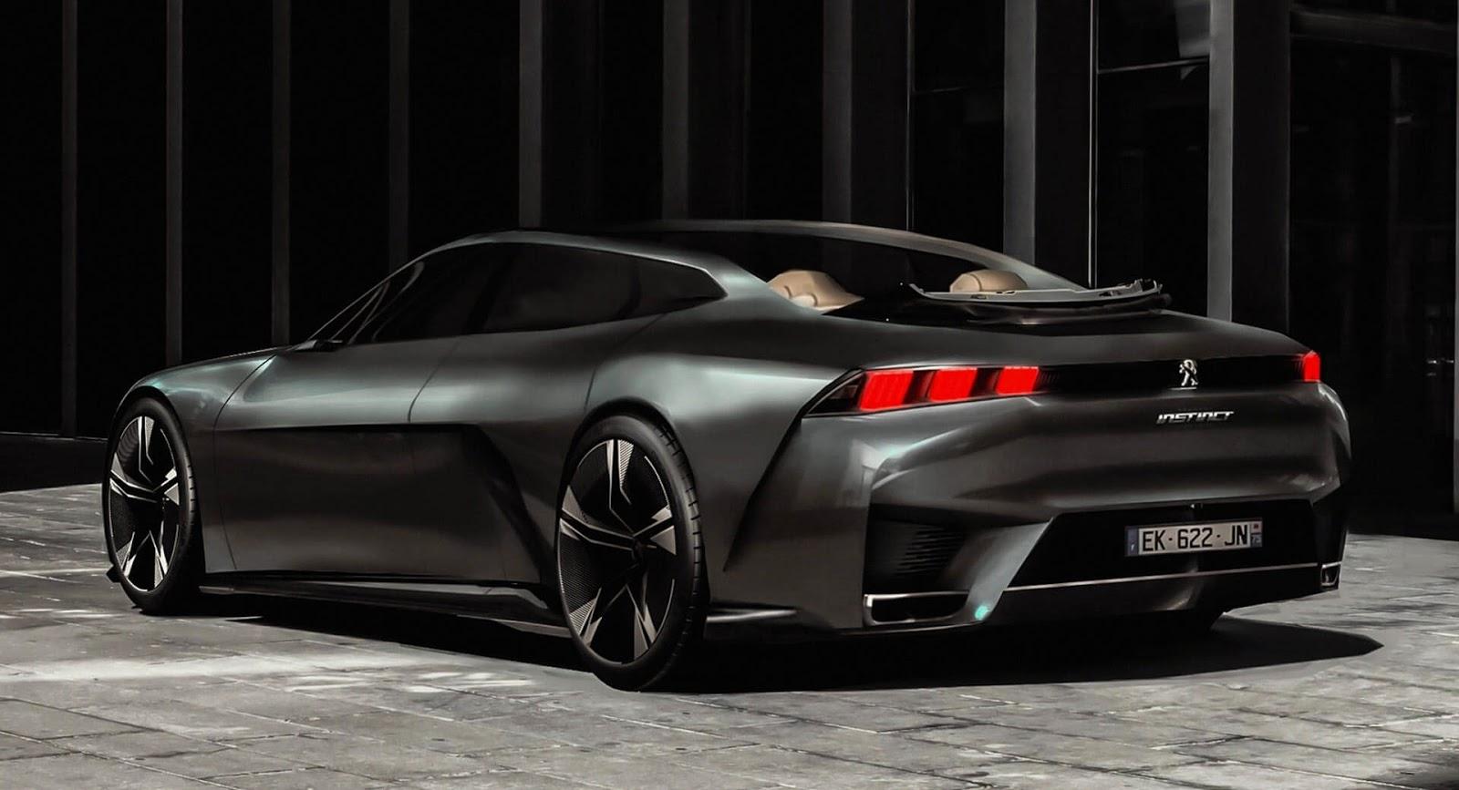 Peugeot Instinct Landaulet Render Looks Properly