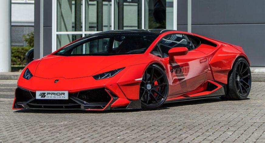 Widebody Lamborghini Huracan By Prior Design Is Poster ...
