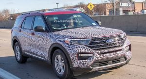 2020 Ford Explorer Shows Its Face And We Re Getting A Highlander