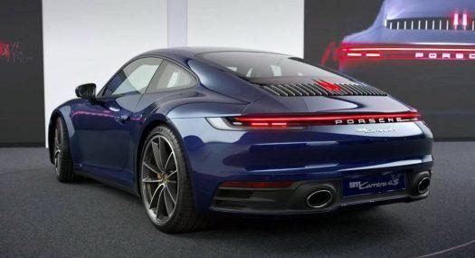 Porsche Names New 911 S Top 5 Design Highlights Car Motorcycle News