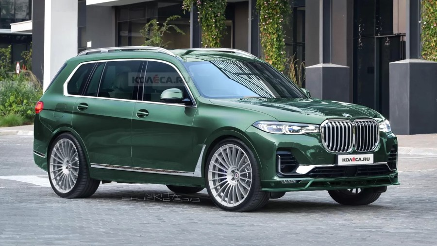 BMW Won't Build An X7 M, But The Alpina XB7 Is Coming To ...