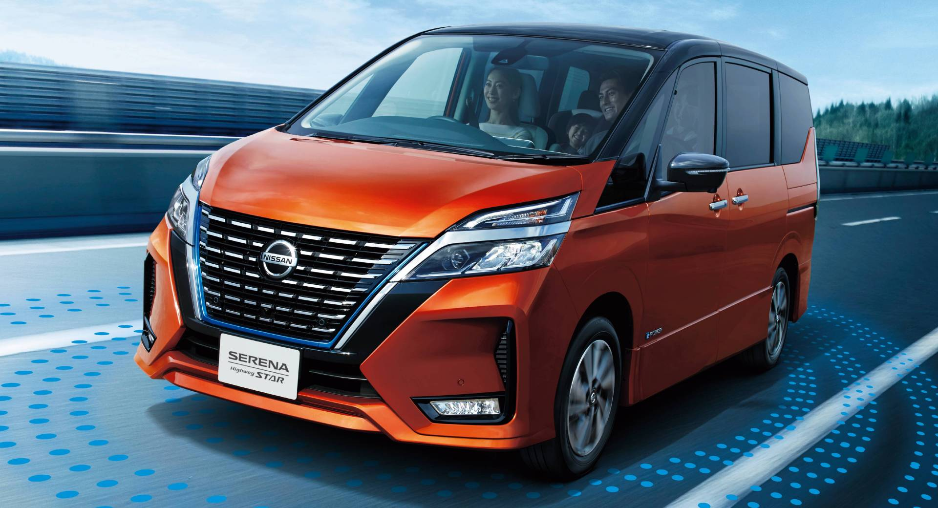 Japan S Facelifted Nissan Serena Becomes Smarter Safer