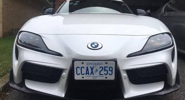 The Ultimate Rebadging Machine: Toyota Supra Owner Slaps BMW Badges On Sports Car | Carscoops
