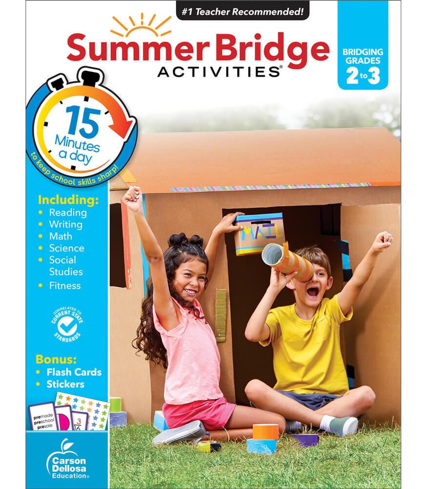 Summer Bridge Activities Workbook Grade 2 3