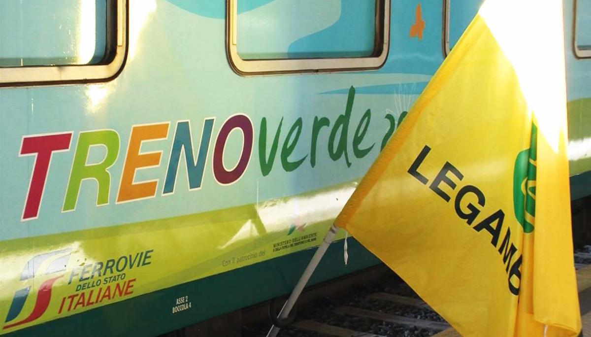 Roma Termini, mercoledì 22 febbraio parte la 29^ edizione del Treno Verde