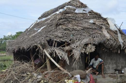 PHOTO: NCDHR, dalit in floods