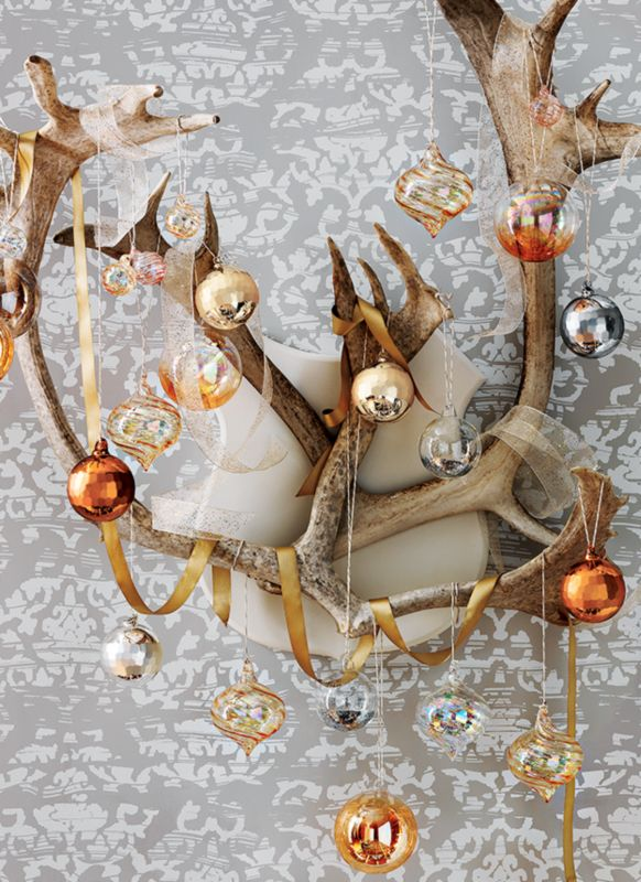 Modern Holiday Decor And Christmas Decorations CB2