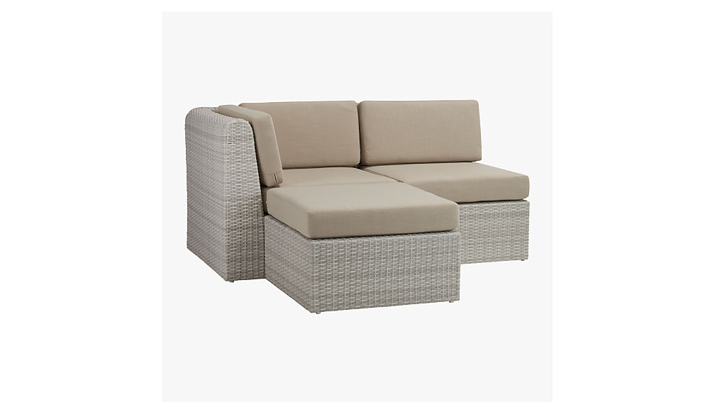 Ebb Small Outdoor Sectional Cb2