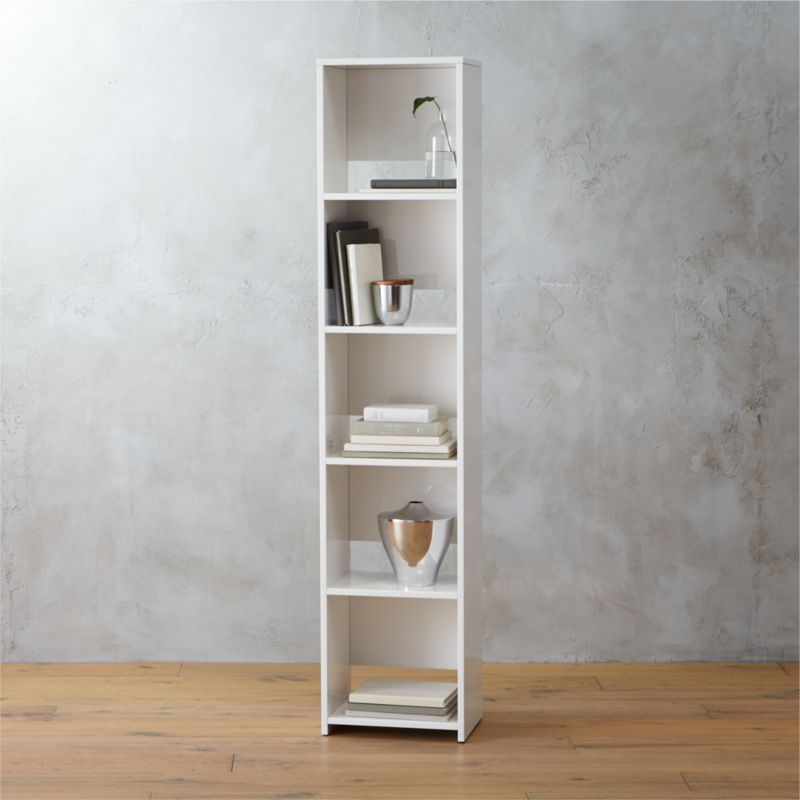 Getaway Narrow Bookcase Reviews Cb2