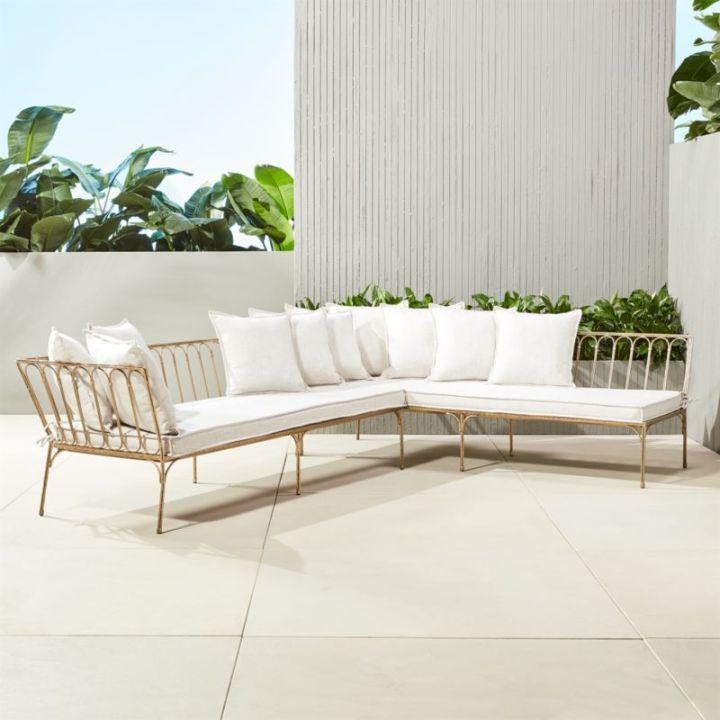 contemporary cb2 patio furniture. Modern Outdoor Sectionals Cb2 Contemporary Patio Furniture