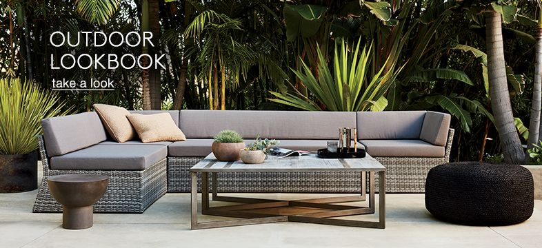 Unique Outdoor Furniture: Modern Tables And Chairs