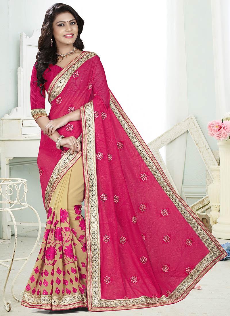Online Shopping Sarees Half