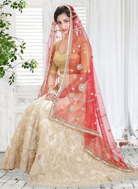 bride in a wedding outfit and a dupatta