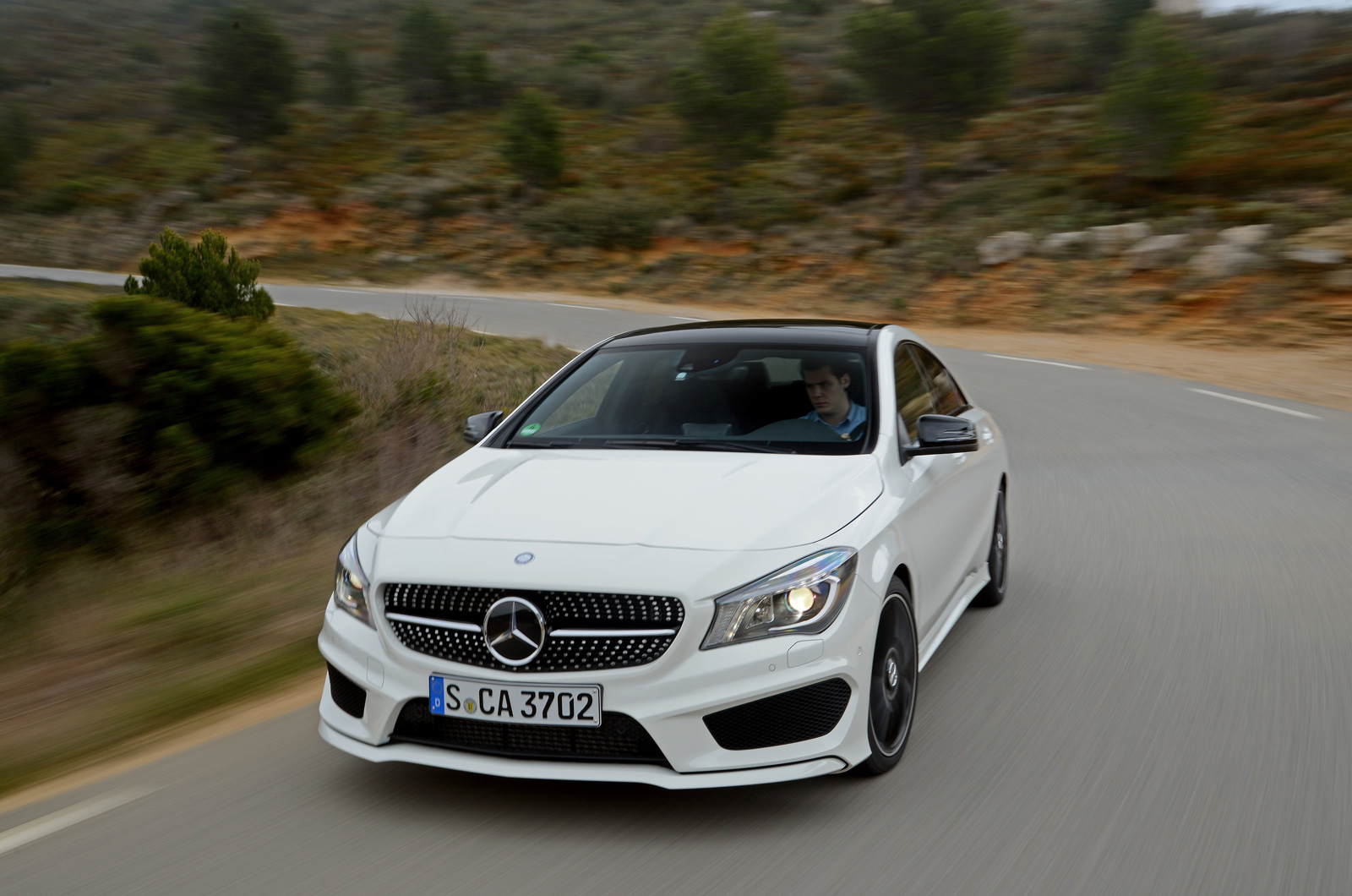 Mercedes Benz CLA220 CDI First Drive Review Review Autocar