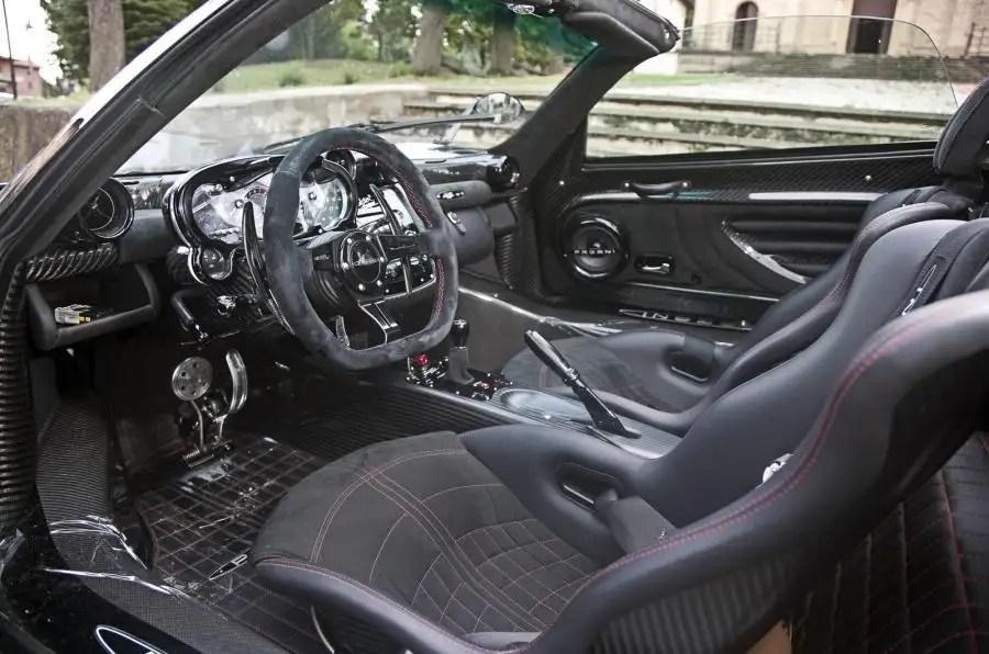Pagani Zonda Cinque Roadster Review 2017 Autocar
