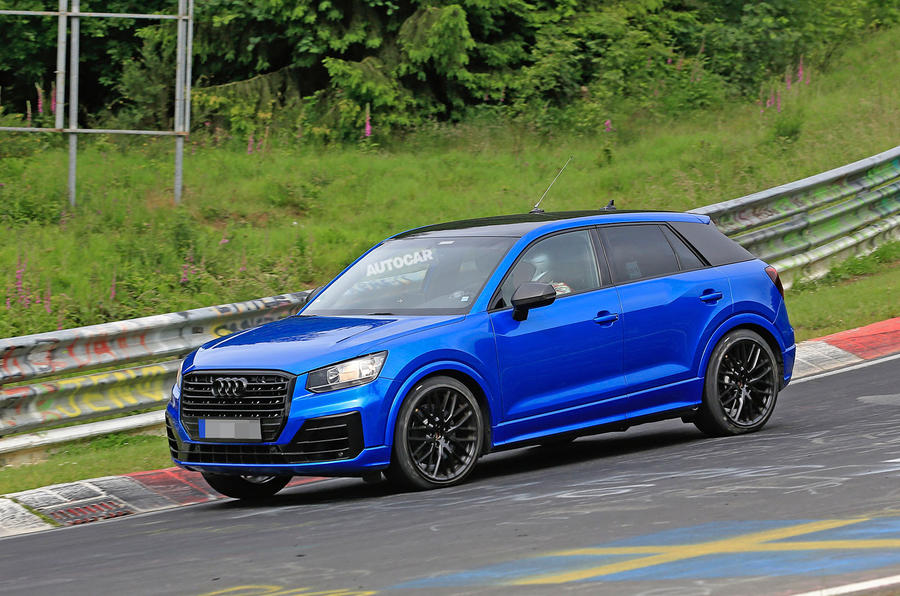 Audi SQ2 Breaks Cover At The Nrburgring With Up To 300bhp