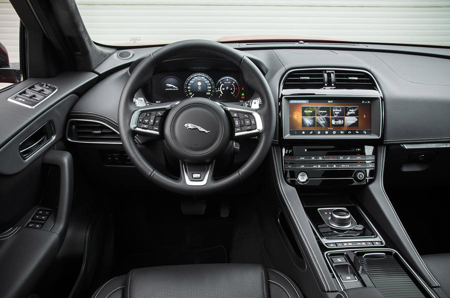 Jaguar Suv Interior