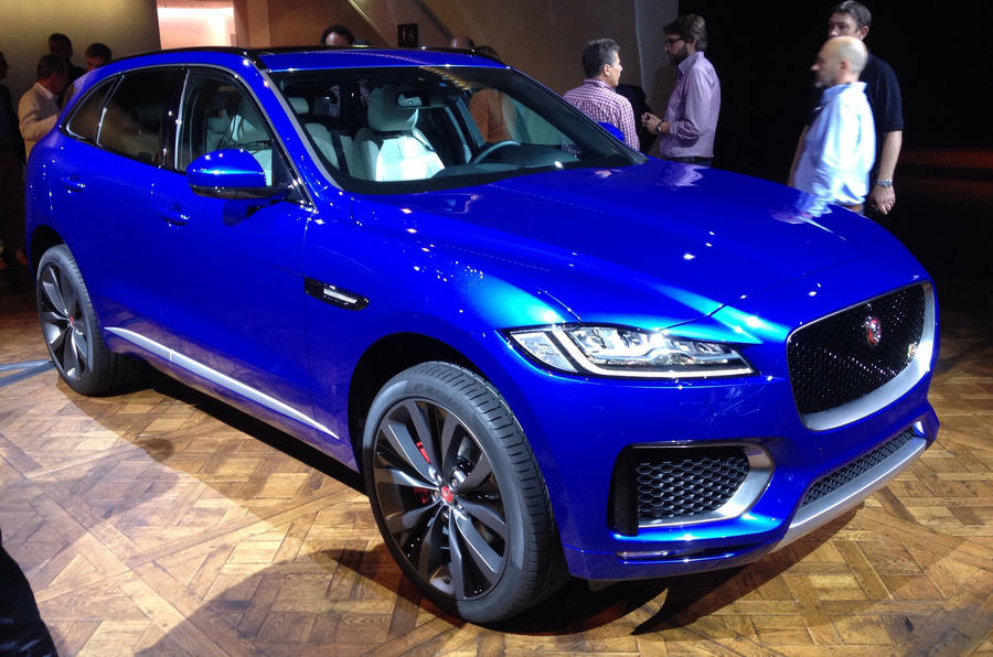 2016 Jaguar F Pace Revealed Full Pictures And Details