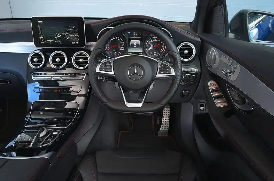 Mercedes AMG GLC 43 Coupe 2017 Review Autocar