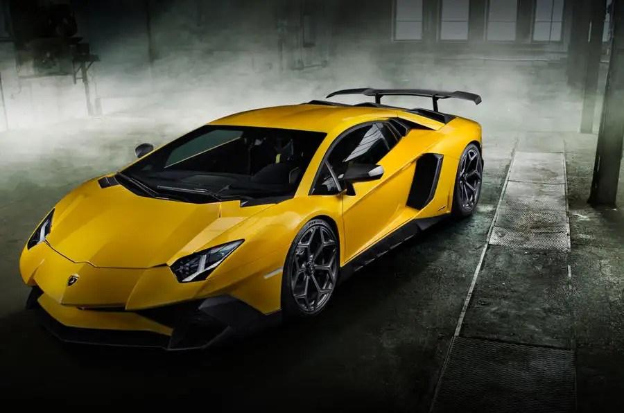 Lamborghini Aventador SV Boosted To 775bhp By Novitec
