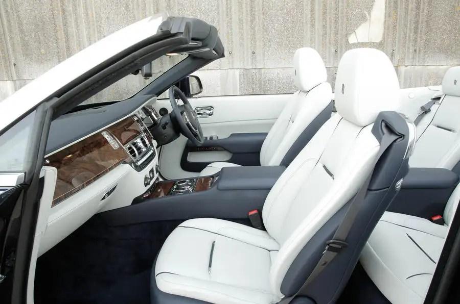 Rolls Royce Dawn Interior Autocar