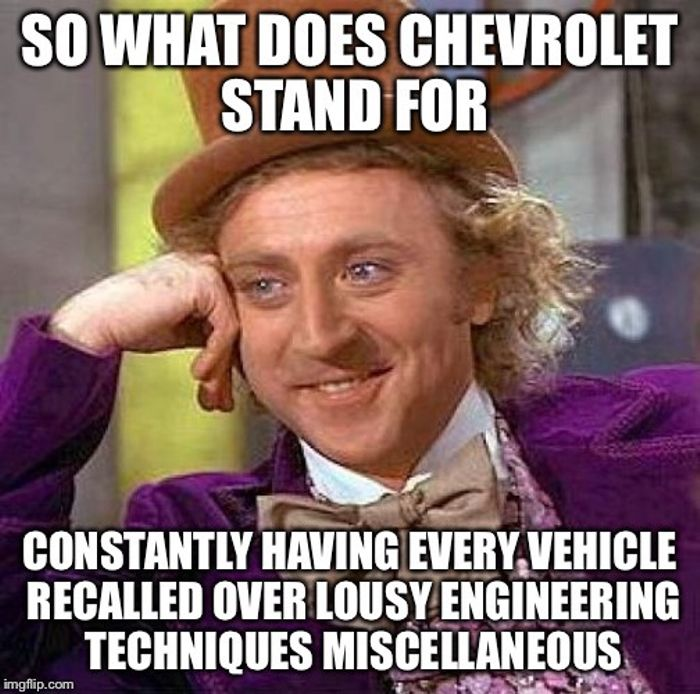 Daily Meme No 3 Everybody Thought That I Was A Chevy Guy