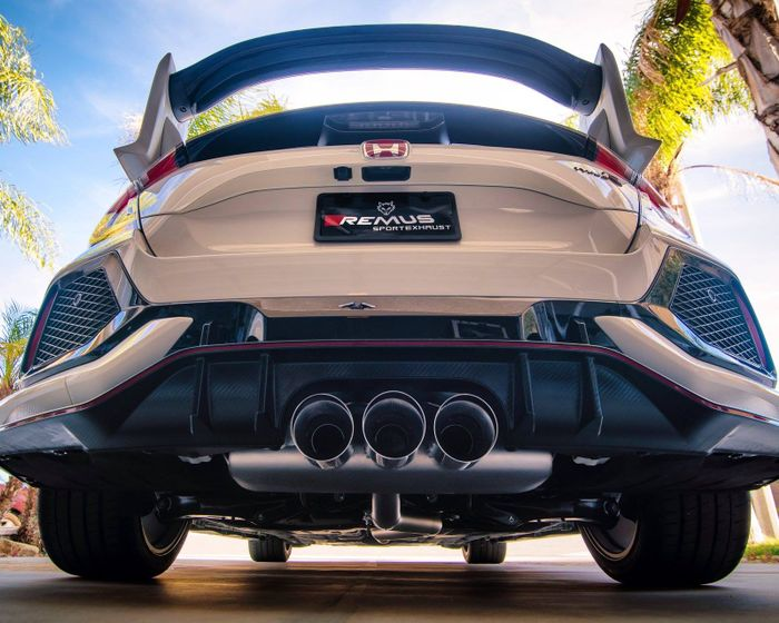 different exhaust materials
