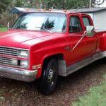 1983 Chevrolet Silverado C30 3 3 1 Ton Dually Pickup Truck