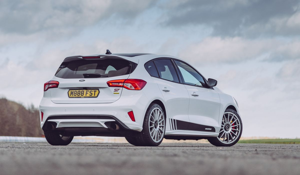 the new ford focus st can be boosted to