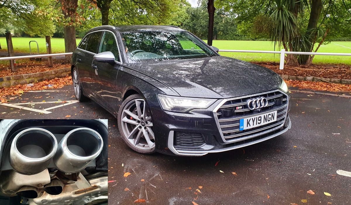 say hello to my new audi s6 yes the