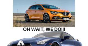 Renault Memes Car Throttle
