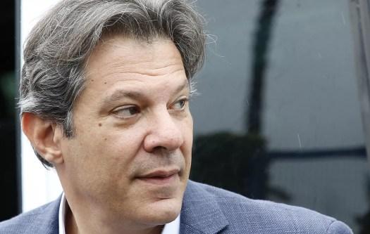 Uusi Brasilian työväenpuolueen presidenttiehdokas Fernando Haddad.
