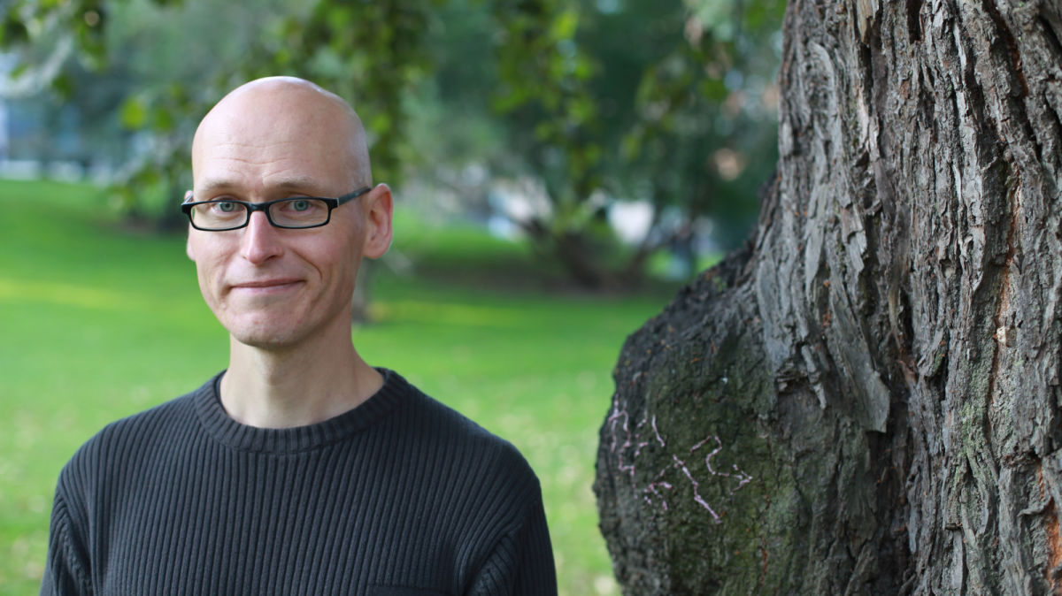 Kirjailija Jussi Valtonen