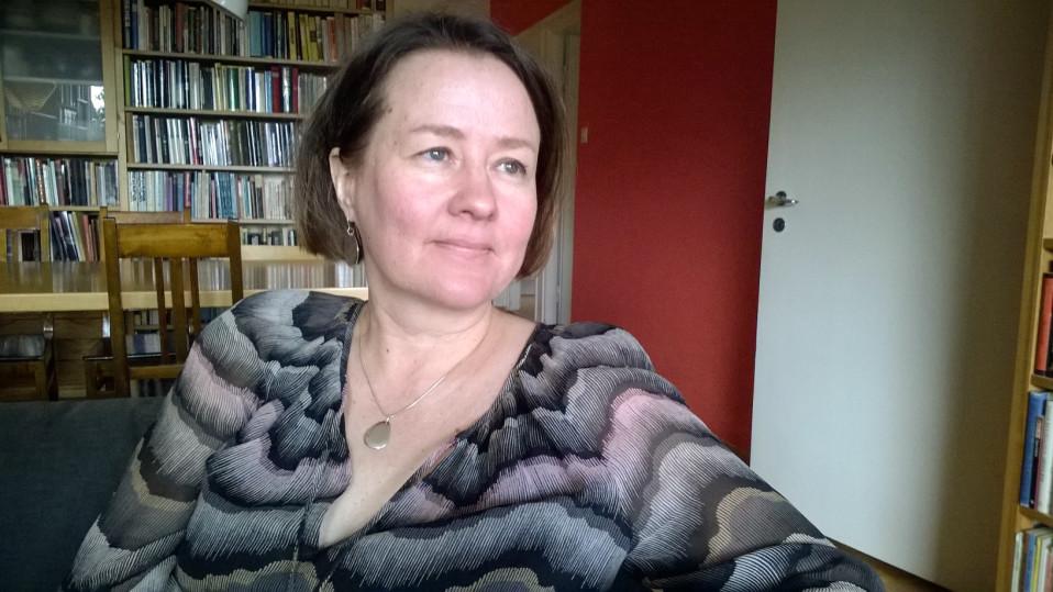 Helsingin yliopiston dosentti Pia Jallinoja