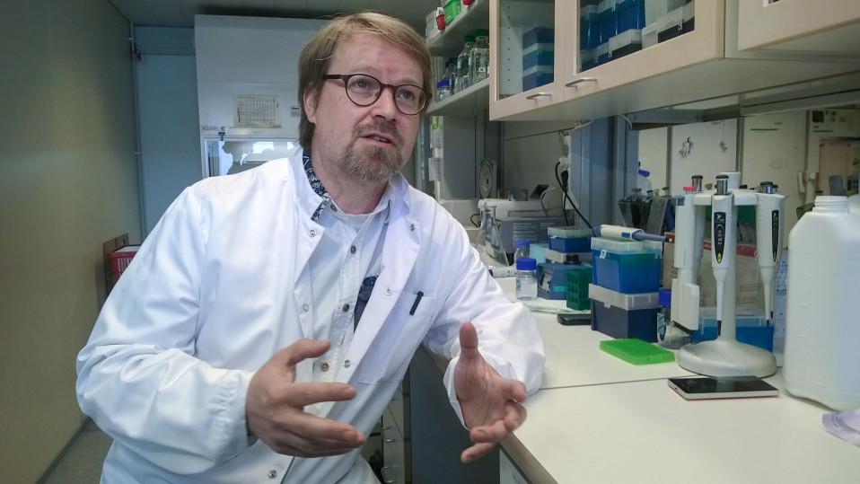 Helsingin yliopiston professori Olli Vapalahti