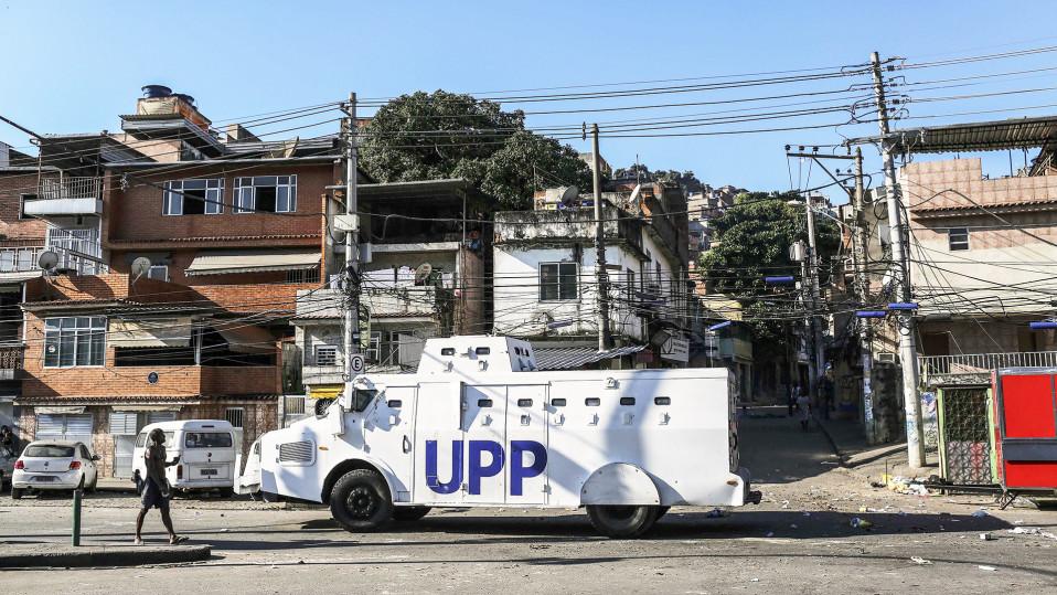 Poliisiauto Mangueirassa.
